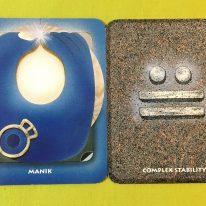 kin38 白い鏡 / 青い手 音12 の エネルギー